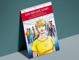 stripverhaal levertransplantatie cover