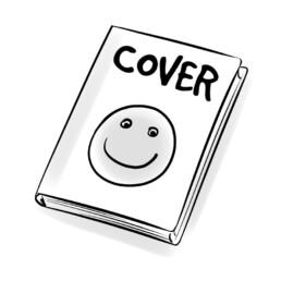 stripverhaal ontwerp cover