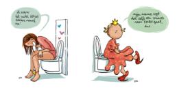 Geberit WC kalender cartoons