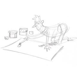 illustratie schetsen