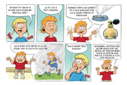sandoz stripverhaal pagina