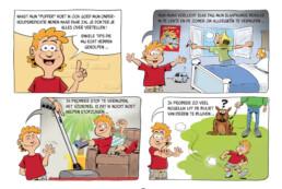 sandoz stripverhaal pagina uitleg