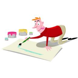 ik zoek een illustrator