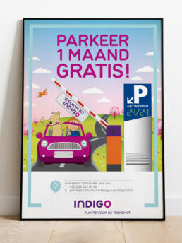 Indigo Park poster lente actie