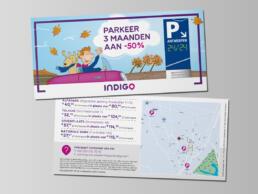 Indigo Park flyer herfst actie