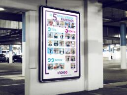 Poster gedragsregels Indigo Parking