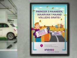 Indigo Park poster herfst actie