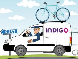 Detail poster gedragsregels Indigo Parking