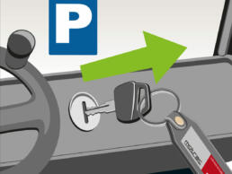 motrac veiligheidsposter detail sleutel